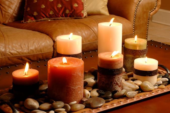 在风水中使用蜡烛,蜡烛是多功能的风水工具